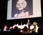 Per Hedén talade på ämnet skönhet och hur de biologiska drifterna styr vår syn på ungdomlighet